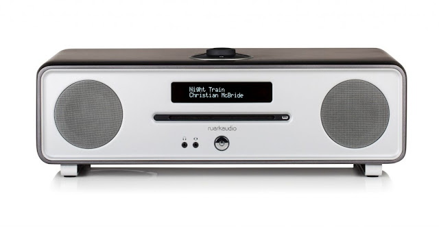 Ruark's limited edition R4-30 - Comprising an enhanced multi-format CD player, aptX enabled Bluetooth receiver,