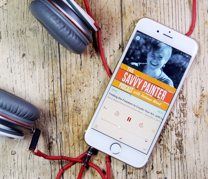The Savvy Painter with Antrese Wood podcast