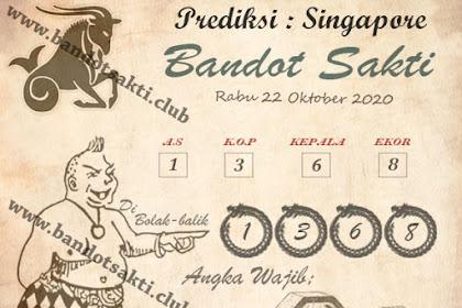 Syair Bandot Sakti Togel Singapore Kamis 22 Oktober 2020