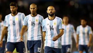 Komentar Sampaoli dengan Hasil Seri Argentina di Kandang Sendiri