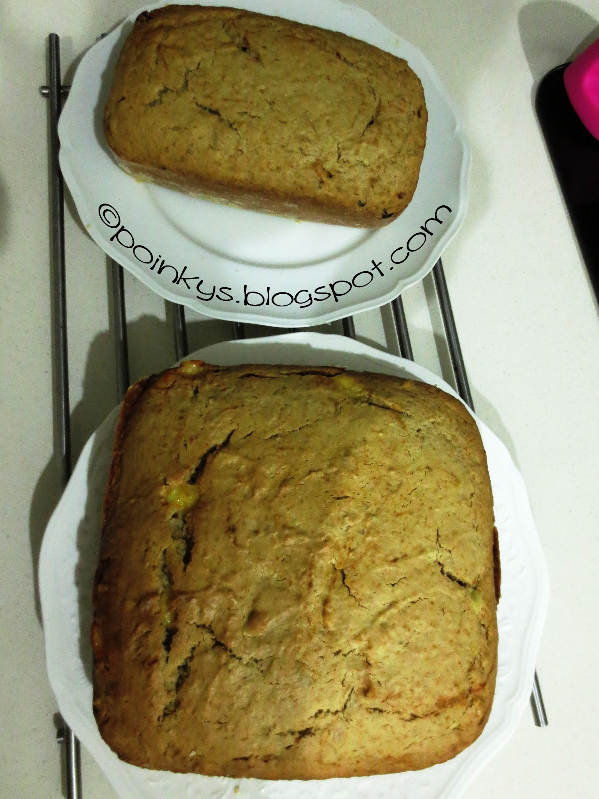 Banana Bread Made With Cake Mix And Sour Cream