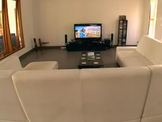 House With Minimalist White Shades