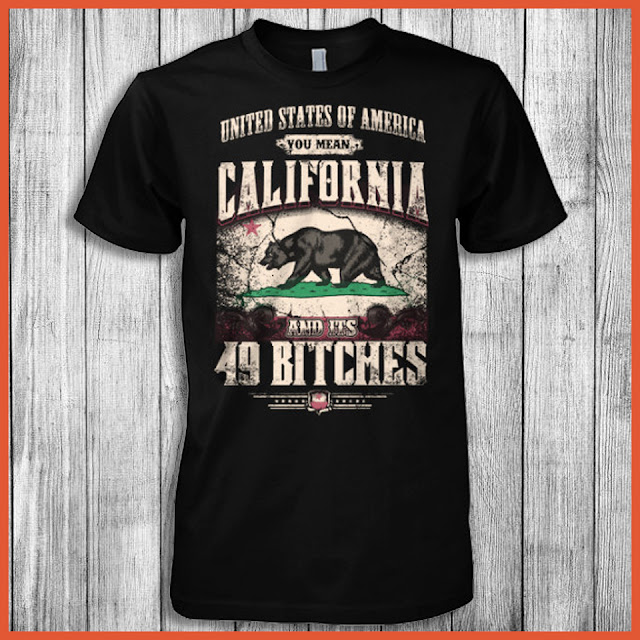 United States Of America You Mean California And Its 49 Bitches T-Shirt