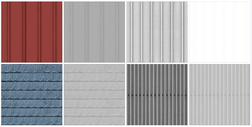 Metal Sheet Roofing Texture Www Pixshark Com Images