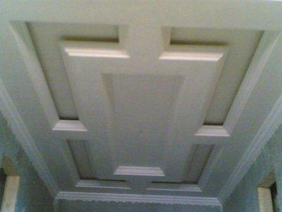 decoration de platre plafond