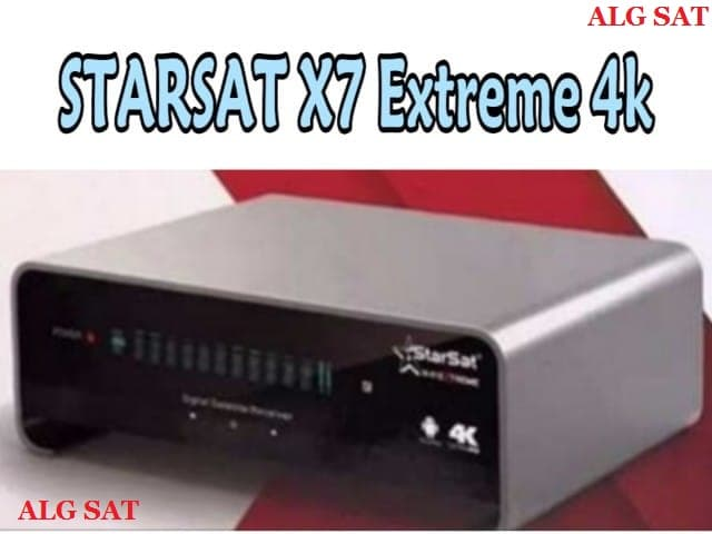 مواصفات جهاز ستار سات StarSat X7 Extreme 4K