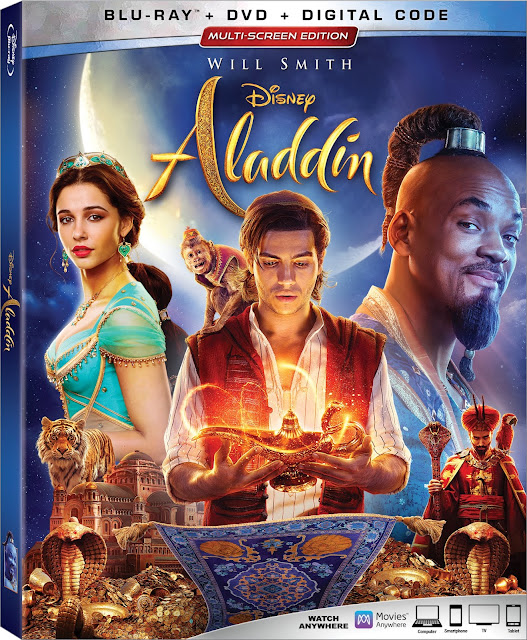 Disney's Aladdin live-action 4K Ultra HD Blu-Ray and DVD