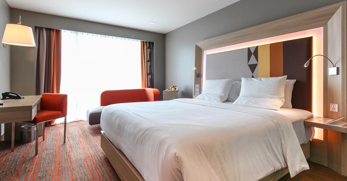 Deluxe Room at Novotel Manila Araneta City