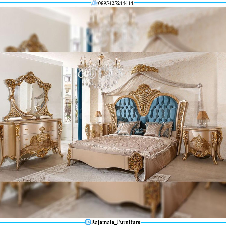 Kamar Set Mewah Jepara Luxury Carving Elegant Style Bedroom Sets RM-0070