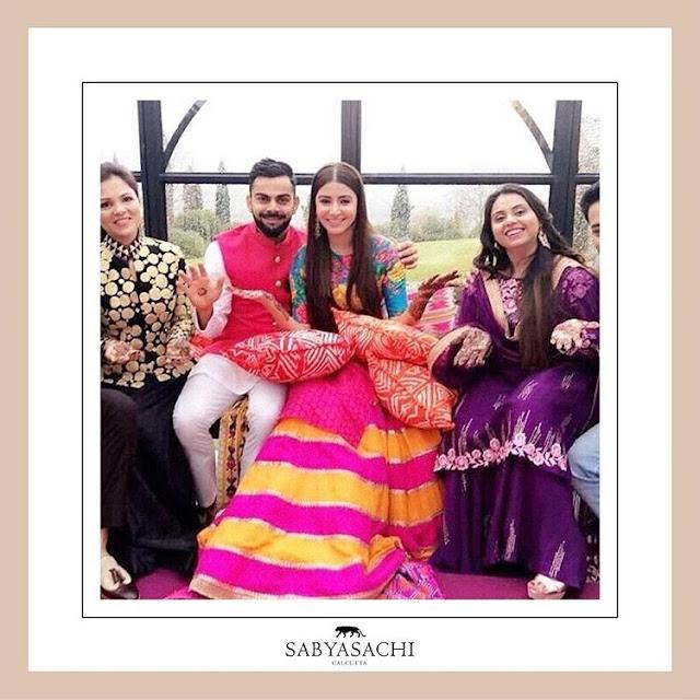 Wedding Pictures of Anushka Sharma And Virat Kohli
