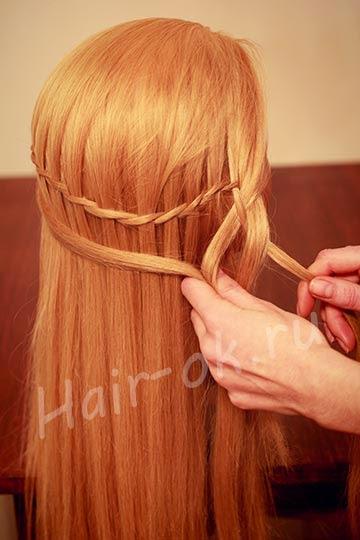 DIY Side Braid For Long Hair - DIY Craft Projects