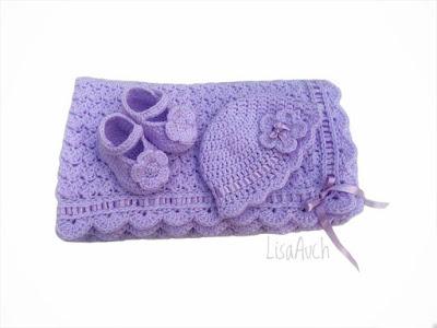 crochet baby set patterns free