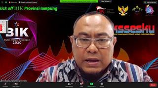 OJK Provinsi Lampung Bersama Industri Jasa Keuangan Melakukan Kick Off Bulan Inklusi Keuangan 2020