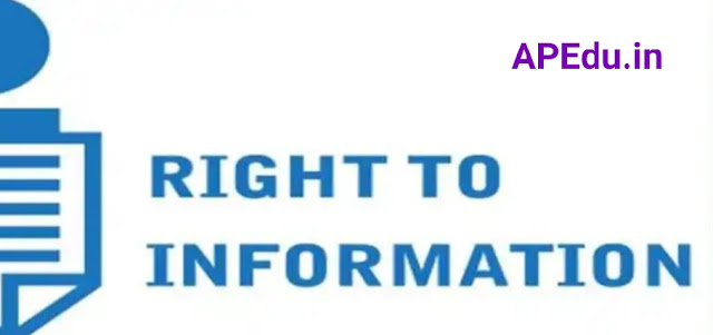 An explanation of what sections are included in the Right to Information Act.