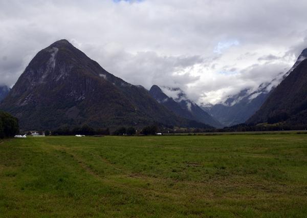 fjell tåke