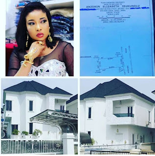 Actress Lizzy Anjorin acquires a new house