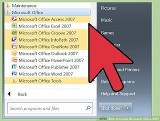 Free Microsoft Office 2007 Pro With Product Key Rajput PC   RajputPC