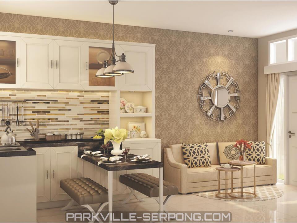 Contoh Design Kitchen Rumah Canola Park