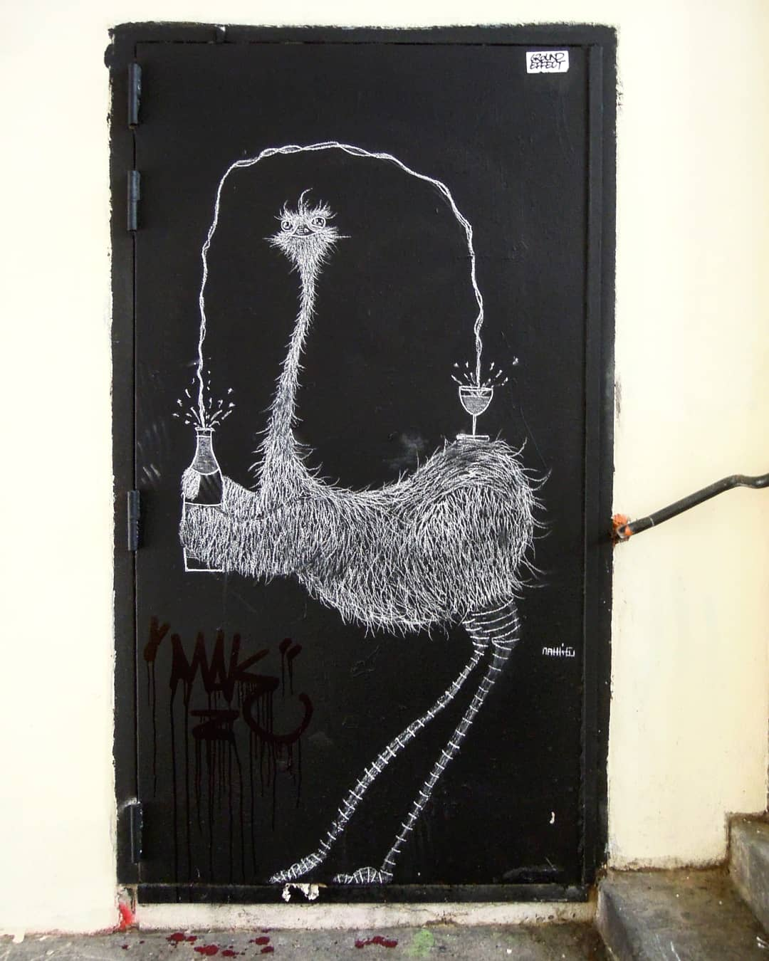 Portrait d'artiste street art