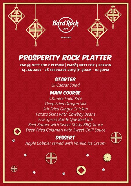 A Rockin' Lunar New Year 2019 Celebration at Hard Rock Hotel Penang