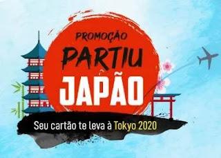 Cadastrar Promoção Club Credz Partiu Japão 2020 Olimpíadas Tóquio - Visa
