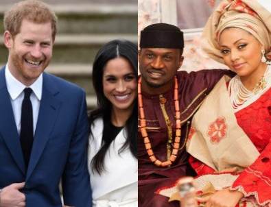 Peter Okoye reacts to trending on Twitter after Meghan and Harry's explosive interview