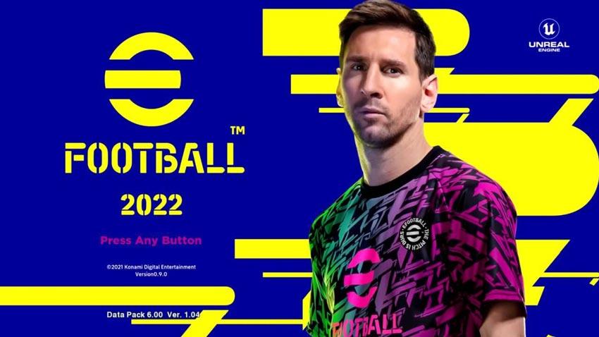 PES 2013 eFootball 2022 Graphic Menu