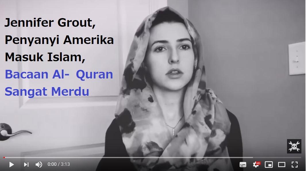 Keramahan Muslim Maroko Bikin Penyanyi Amerika Jennifer Grout Masuk Islam