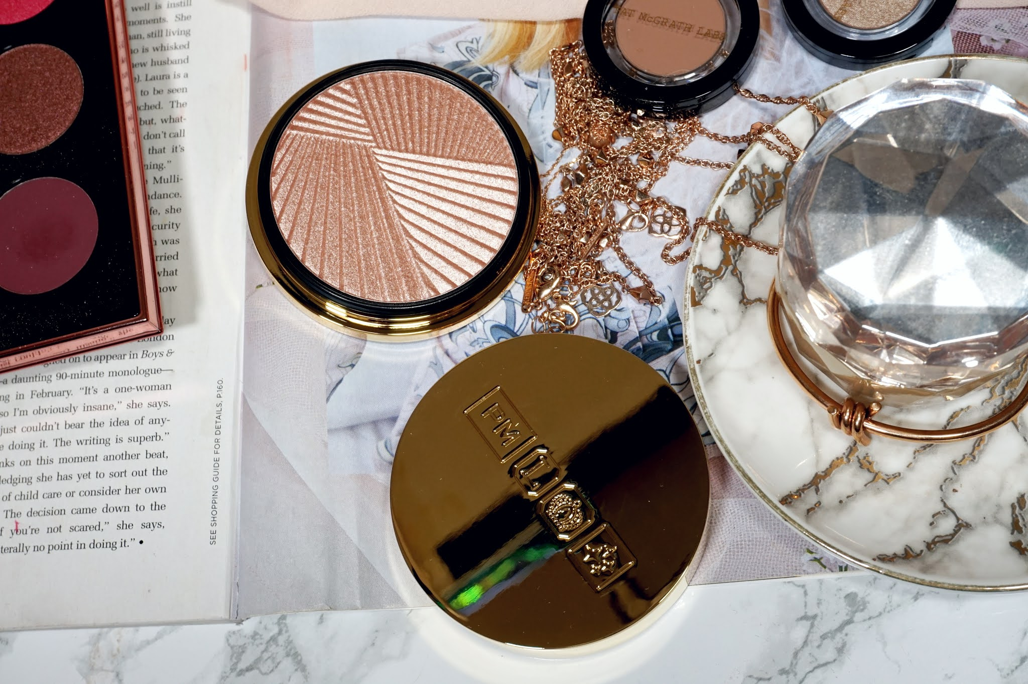 Pat McGrath Skin Fetish Sublime Skin Highlighter Review and Swatches