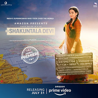 Shakuntala Devi First Look Poster 4