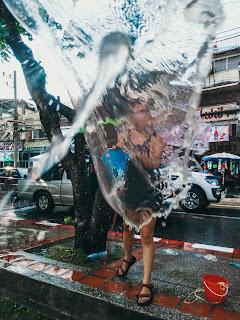 lanie wody | nowy rok w Tajlandii | tajlandzki nowy rok