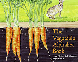 vegetable alphabet book is filled with interesting facts and humor