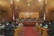 Bupati  Tgk. H. Sarkawi Sampaikan LKPJ Tahun 2020 Kepada DPRK Bener Meriah