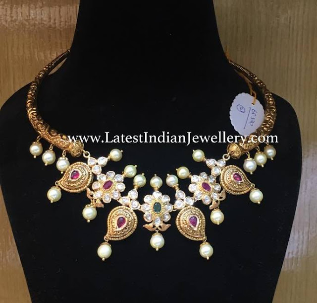 Mango Design Kanthi Necklace
