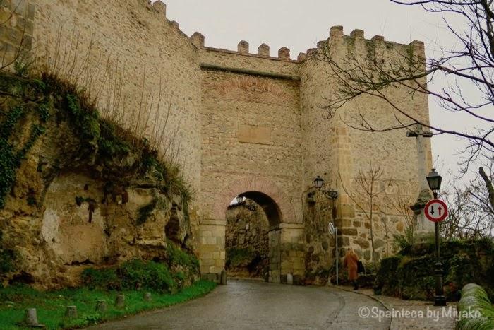 Segovia 世界遺産セゴビアのサンセブリアン門
