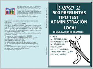simulacros de examen administración loxal