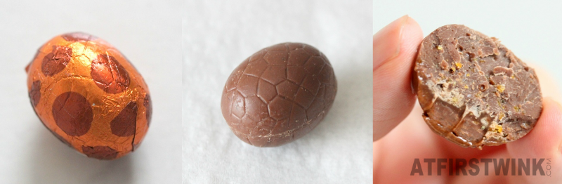 HEMA Easter chocolate eggs milk caramel sea salt review
