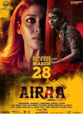 Poster Airaa 2019 Hindi Dubbed HD 720p
