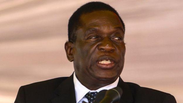 Zimbabwe: Emmerson Mnangagwa urges Mugabe to quit now