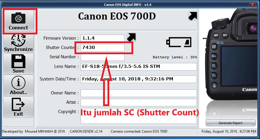 Seberapa Penting Shutter Count Pada Kamera DSLR ? Bagaimana