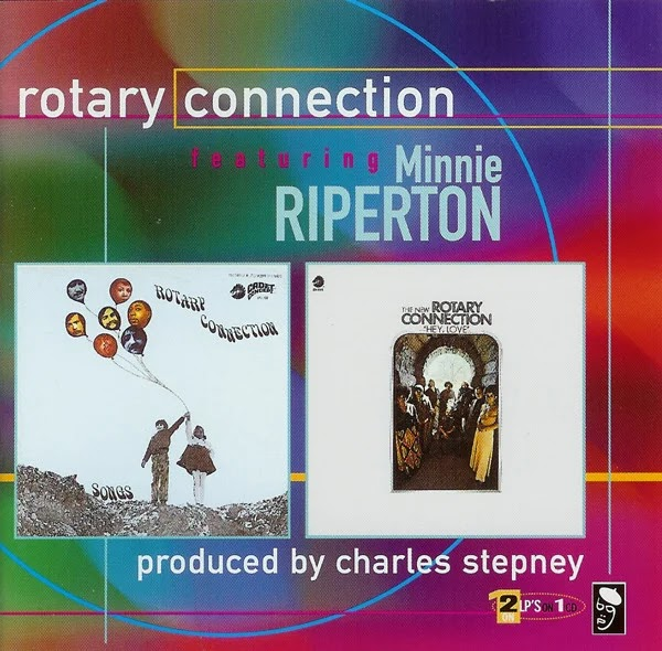 Rotary Connection Featuring Minnie Riperton - Songs [1969] + Hey, Love [1971] (1998, Rock Psicodélico, Soul, Jazz Fusion) [FLAC]
