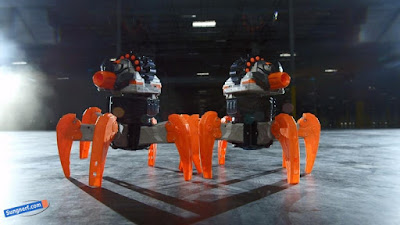 Nhện Robot Nerf Combat Creatures TerraDrone