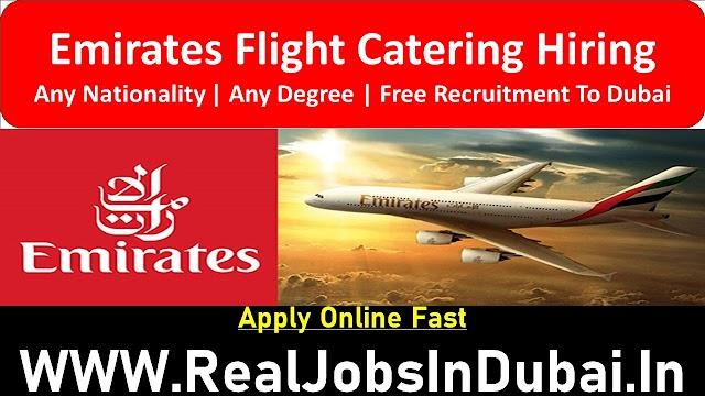 Emirates Flight Catering Hiring Staff In Dubai  UAE