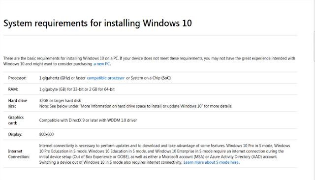 كيف تتأكد هل حاسوبك قادر على تشغيل ويندوز 10 قبل تحميلة وتثبيتة 2