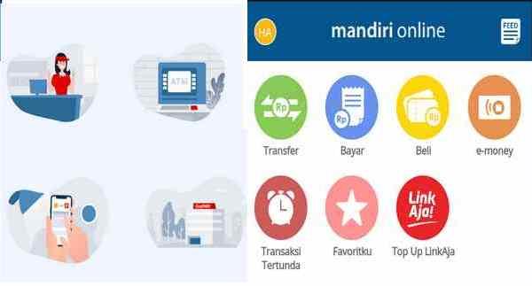 Cara TopUp Saldo LinkAja via ATM dan Mandiri Mobile Banking
