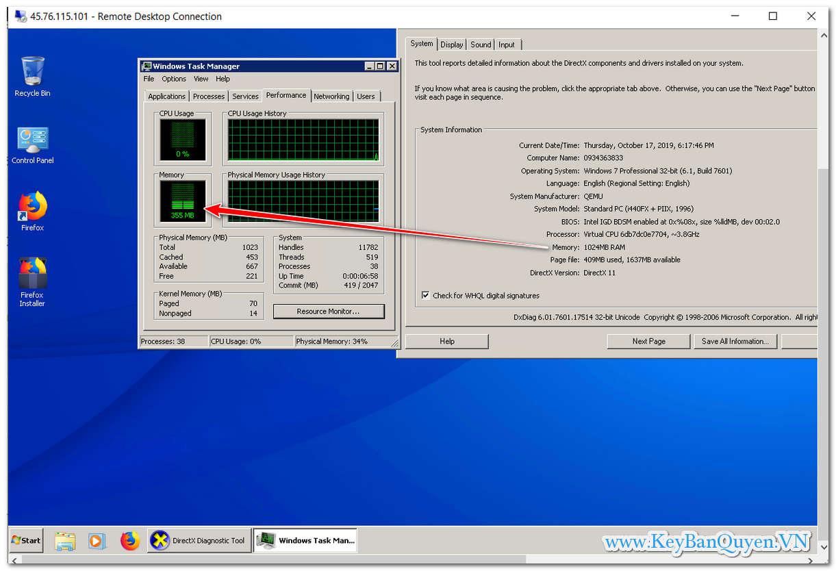 Hướng dẫn cài đặt Windows 7, Windows 10 , Windows Server 2012 - 2016 và 2019 trên VPS Vultr