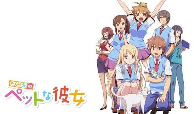 Sinopsis Sakurasou no Pet na Kanojo, Anime Komedi Romantis 2013
