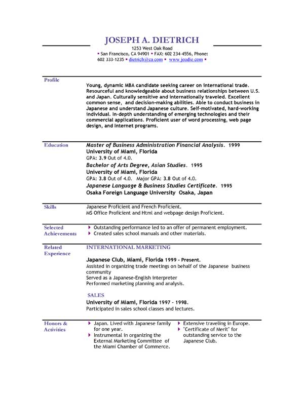 free downloadable resume template should you really be using one - Really Free Resume Templates