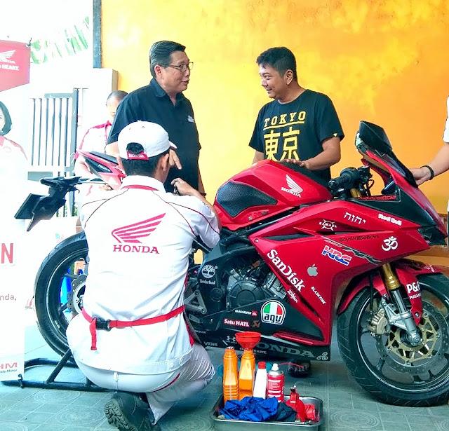 Layanan Service Jemput dan Home Service Motor Honda
