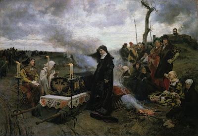 Francisco Pradilla, Doña Juana la Loca, 1877